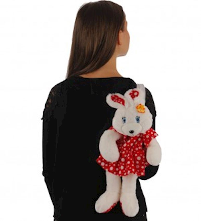 Toy Animal -PLUSH ANIMALS PLUSH RABBIT BACKPACK