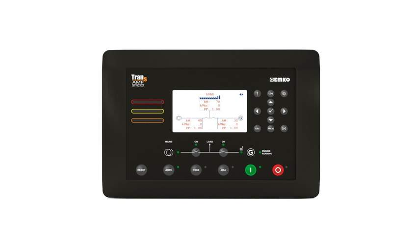 TRANS AMF SYNCROAutomatic Generator Control, Transfer and Load Sharing Unit