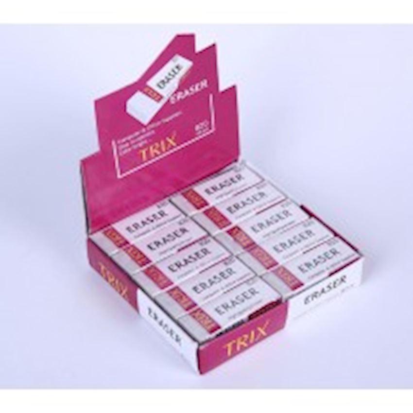 Trix - Eraser - White - Large - 20s Eraser