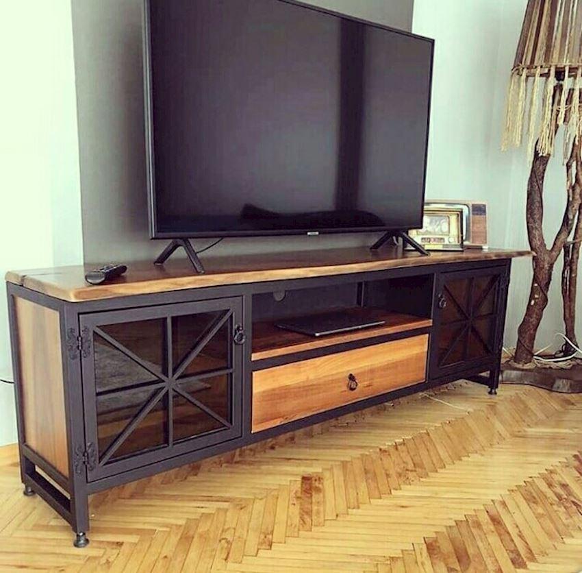 TV Stands / Unit Natural Wooden