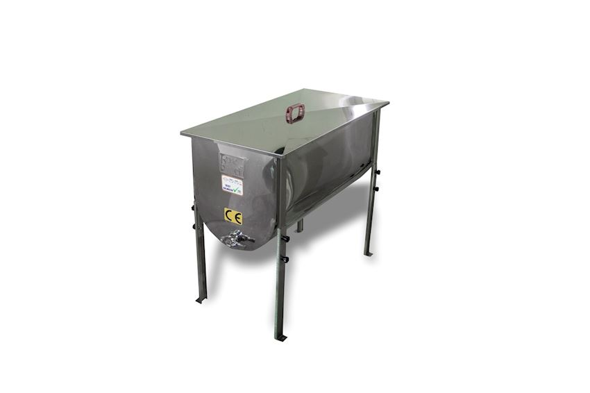 Umcapping Tank - Stainless Steel