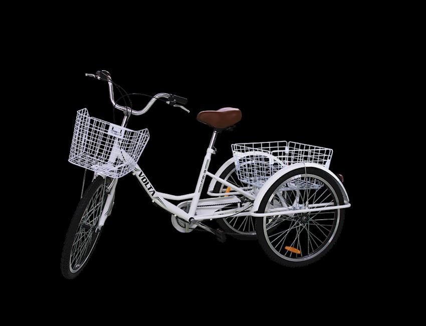 vb5 6 Speed Bicycles Disc Brake three wheel Cargo Bicycle