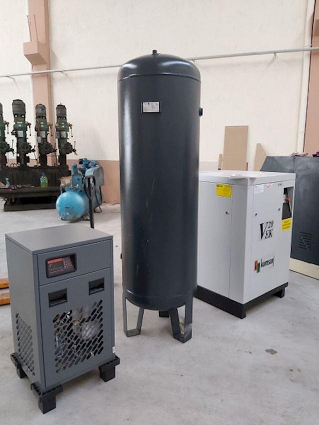 VEK 20 Komsan (Zero) 20HP 11KW Set Screw compressor