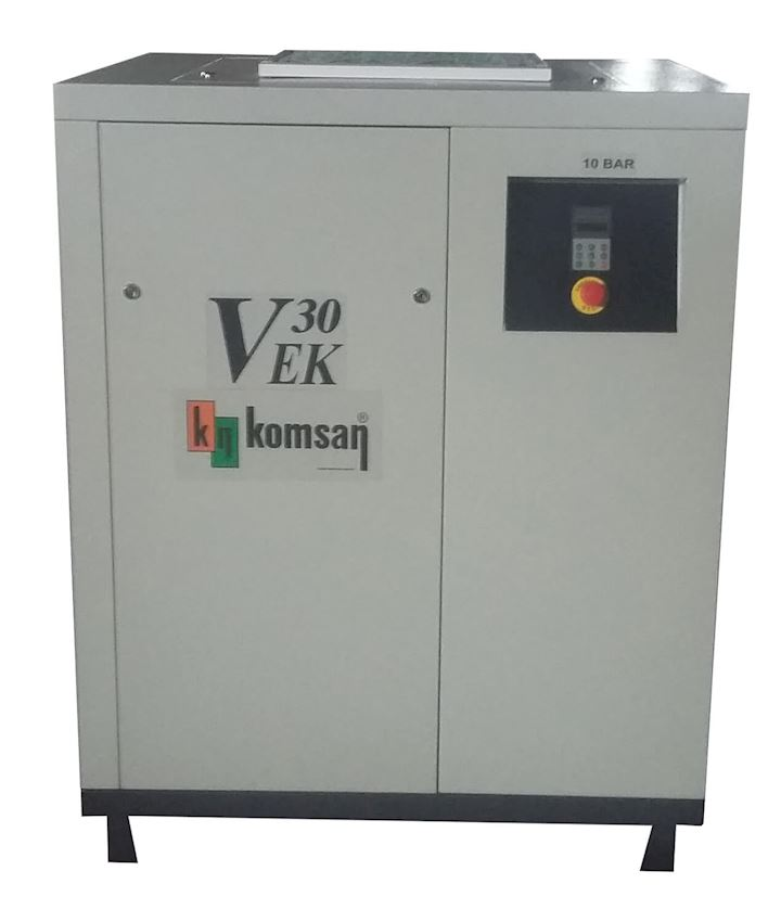 VEK 30 Screw Compressor With İnverter