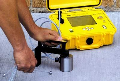 VU-CON Concrete Thickness Testing Equipment