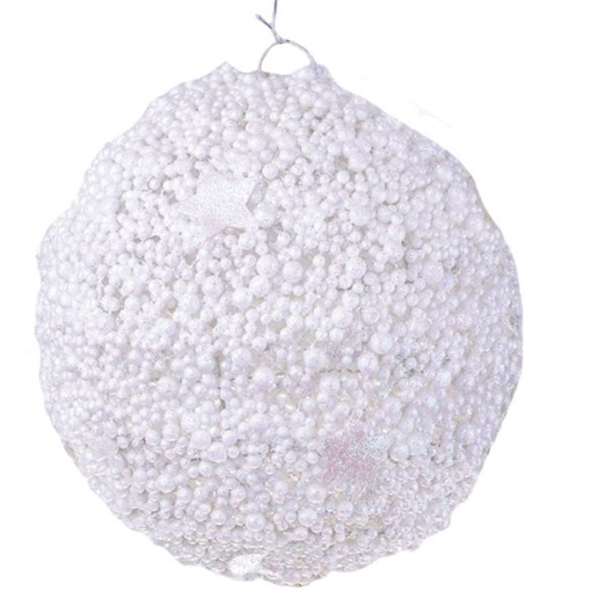 White Ball Christmas Ceiling Decor 30cm Christmas Decoration Supplies