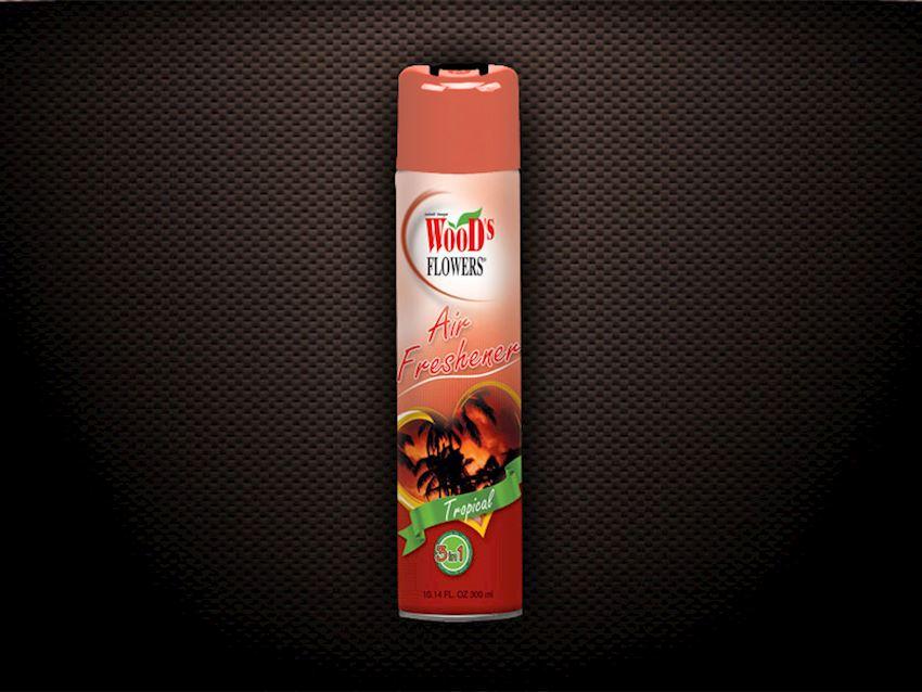 Wood's Flowers Tropical Air Fresheners