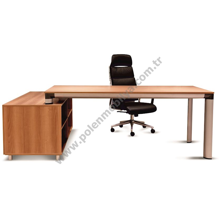 Work Table with Shelf: 180x80x75h