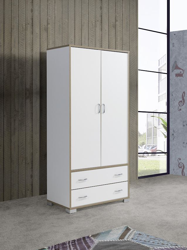 YILPA 2 DOORS WITH 2 DRAWERS Wardrobes