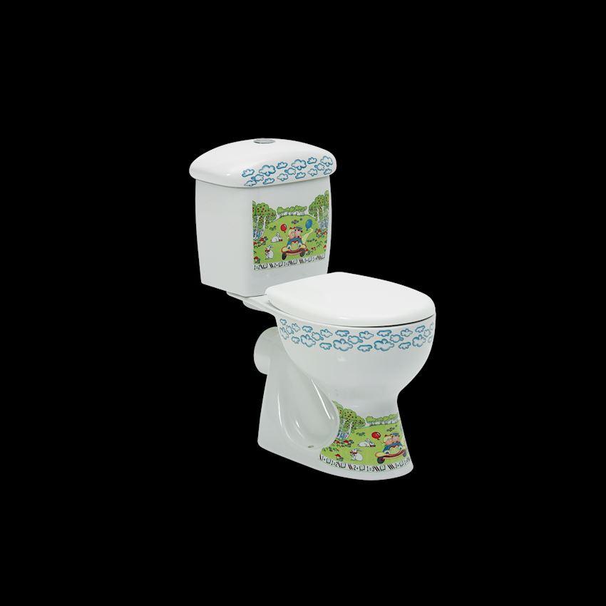 Yumurcak Closet, P-Type Toilet Bowls